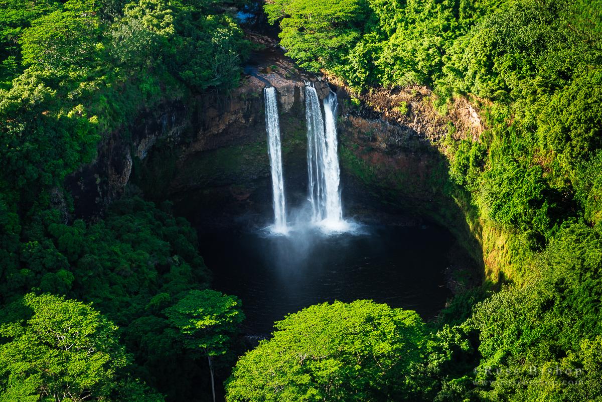 Wailua Falls, Wailua River State Park, Kauai, Hawaii
