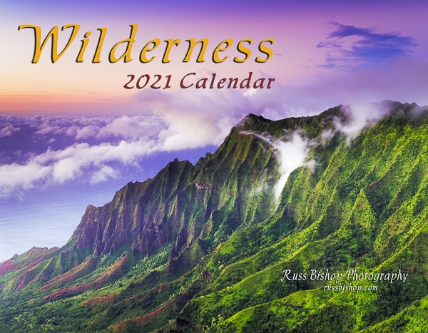 2021 Wilderness Calendar by Russ Bishop